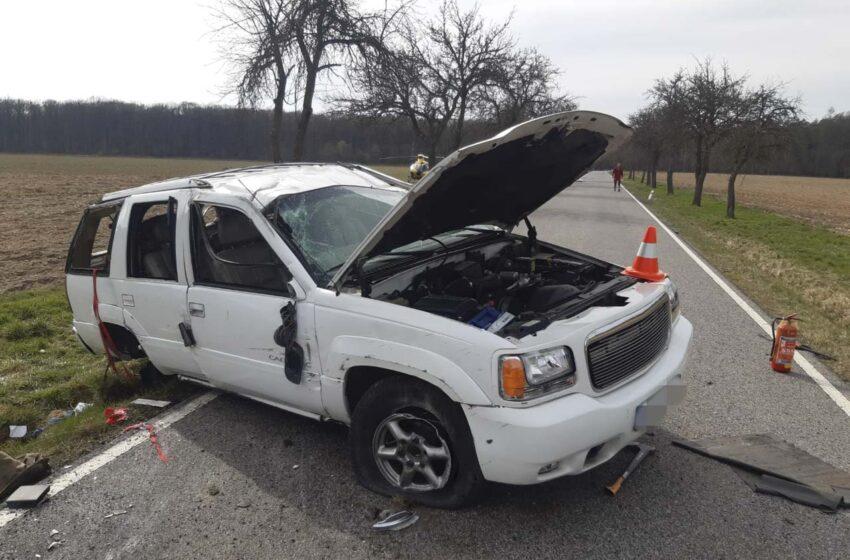 Tragická dopravní nehoda mezi obcemi Jabkenice a Mcely