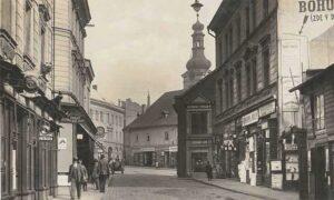 Železná ulice Mladá Boleslav
