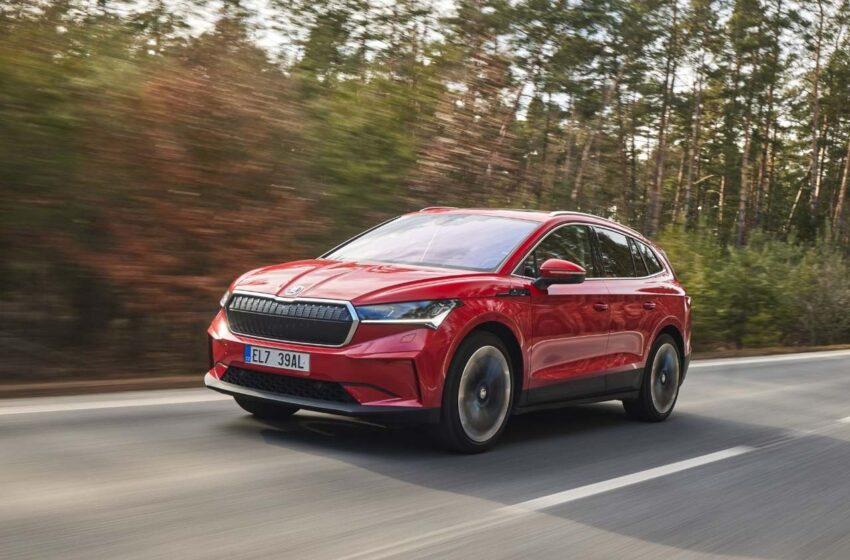 Škoda dnes zahájila prodej prvního elektrického SUV Enyaq iV