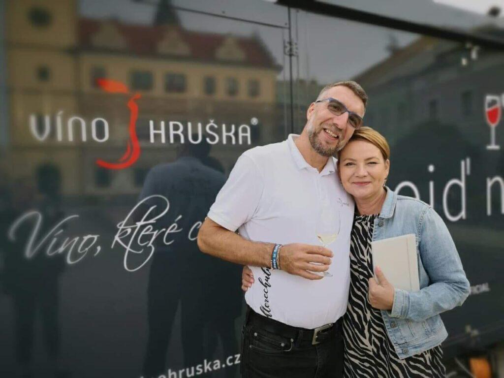 Radek Zakonov Jolana Voldánová Víno Hruška Mladá Boleslav