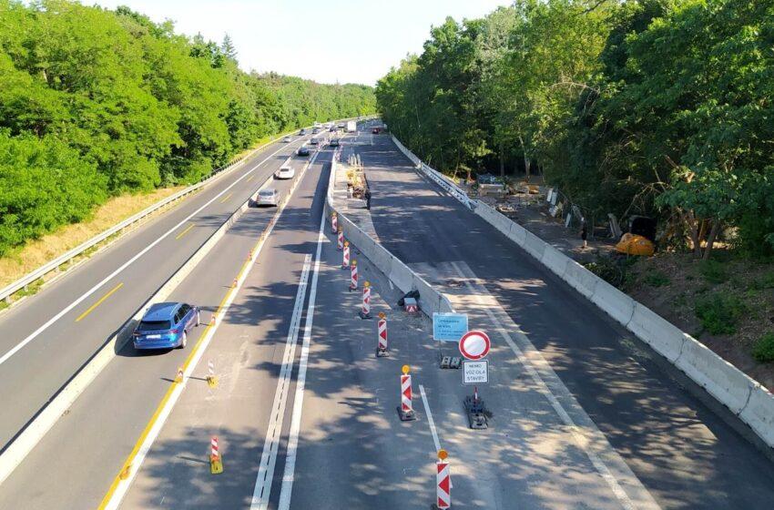 Na D10 končí několikaměsíční dopravní omezení u Staré Boleslavi