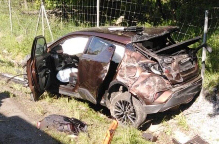 Dopravní nehoda uzavřela dálnici D10. Jeden člověk byl zraněn