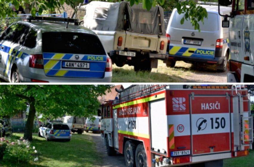Těžké popáleniny způsobil  muži z Mladoboleslavska požár s výbuchy