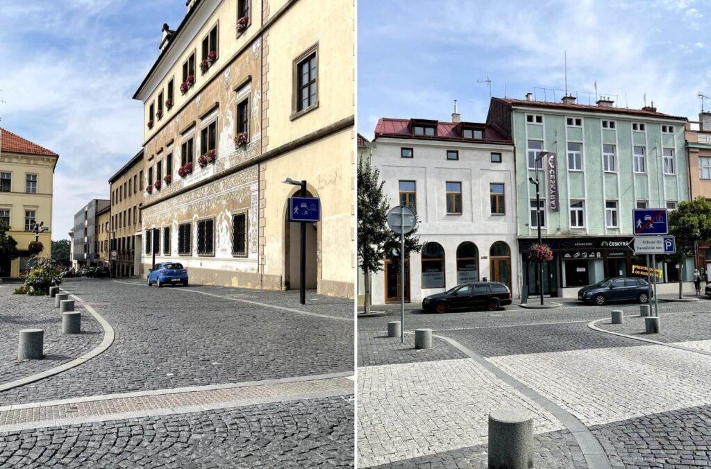 Staroměstském náměstí v Mladé Boleslavi