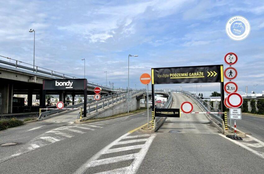 Rekonstrukce parkoviště Bondy centra ovlivní chod autobusového nádraží