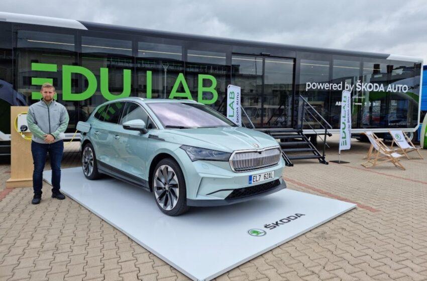 Škoda Auto představila novou vzdělávací mobilní laboratoř EDU.LAB