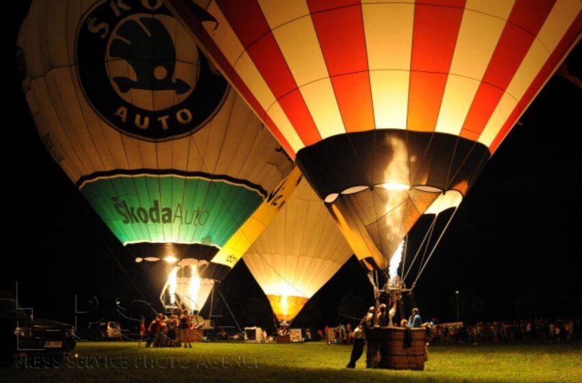 Nebe nad Mladoboleslavskem se bude opět hemžit horkovzdušnými balony