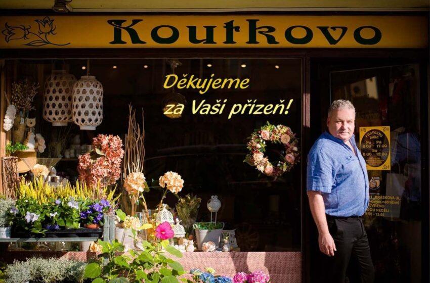 (NE)VŠEDNÍ LIDÉ – Zdeněk Koutek, majitel Koutkova květinářství v Mladé Boleslavi