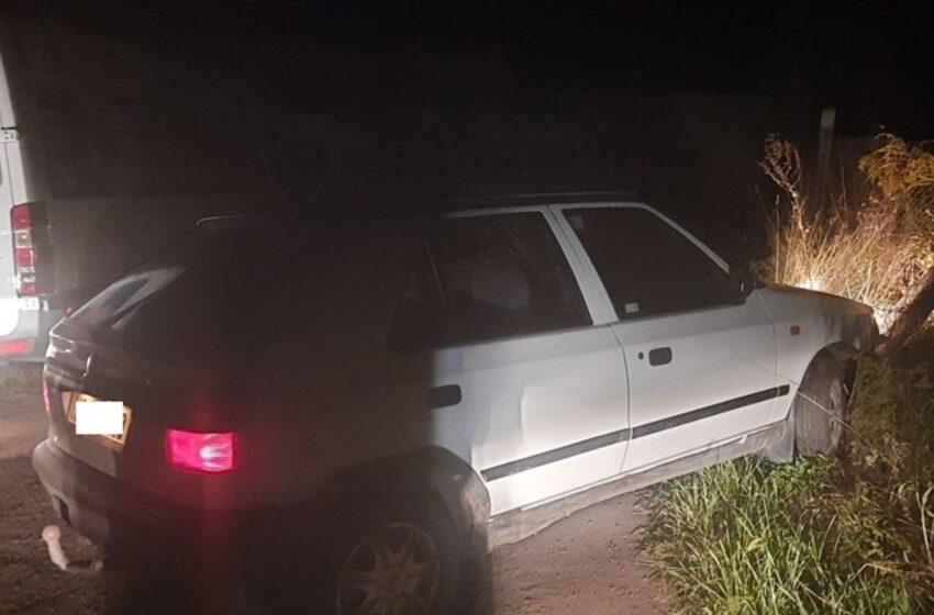 Muž bez řidičáku v Mladé Boleslavi ujížděl strážníkům. Zastavil ho náraz do oplocení