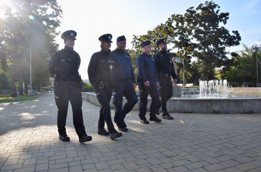 Polští policisté se opět zařadili do hlídek v Mladé Boleslavi