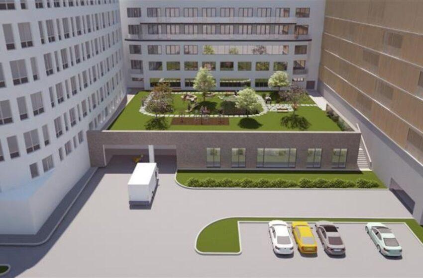 Klaudiánova nemocnice zahájila stavbu nového stravovacího provozu