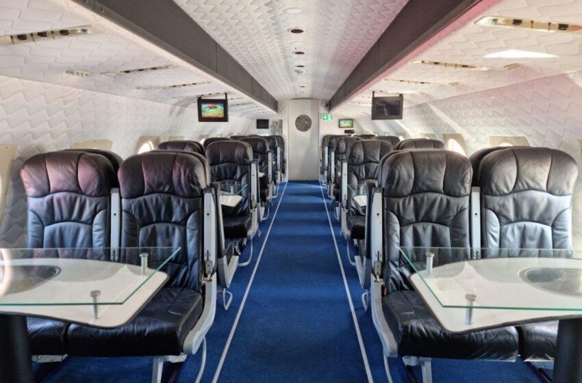 Vnitřní prostory Letadla na D10 se brzy otevřou veřejnosti